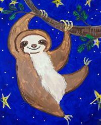 Silly Sloth 200